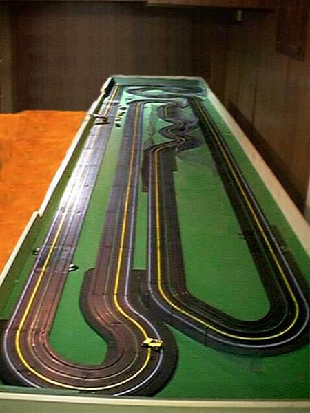 slot car track how to clean